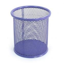 Porte Stylo Cylindre en métal / Violet
