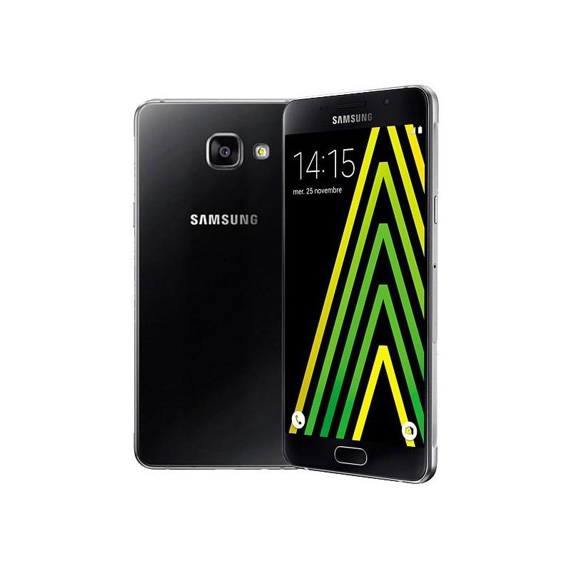 Téléphone Portable Samsung Galaxy A5 / Double SIM / 4G / Noir + SIM Offerte