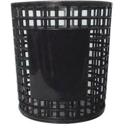 Porte Stylo Cylindre en plastique / Noir