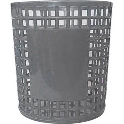 Porte Stylo Cylindre en plastique / Gris