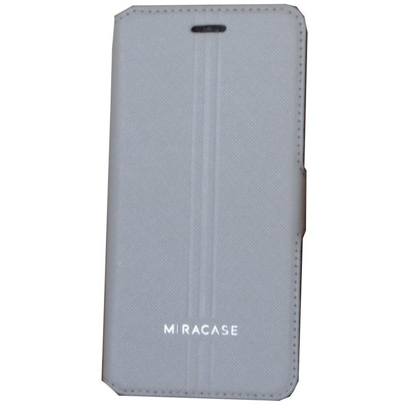 Etui MiraCase Karson pour iPhone 6 / Gris