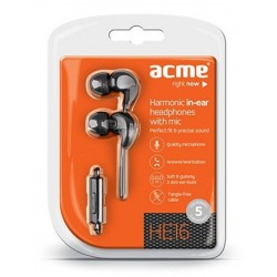 Ecouteurs intra-auriculaires avec micro ACME HE16