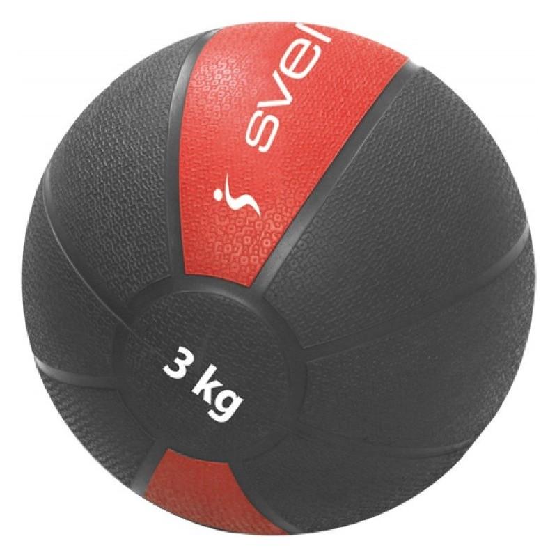 Médecine Ball Sveltus 3KG / Rouge