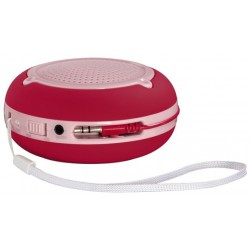 "Enceinte portable Hama ""Pocket"" / Rouge"
