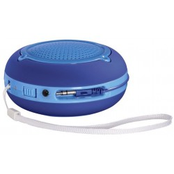 "Enceinte portable Hama ""Pocket"" / Bleu"