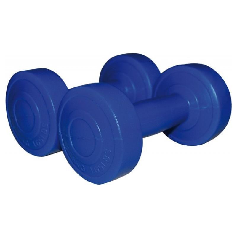 Haltères vinyle bleu Sveltus Roy 2x 0.750kg