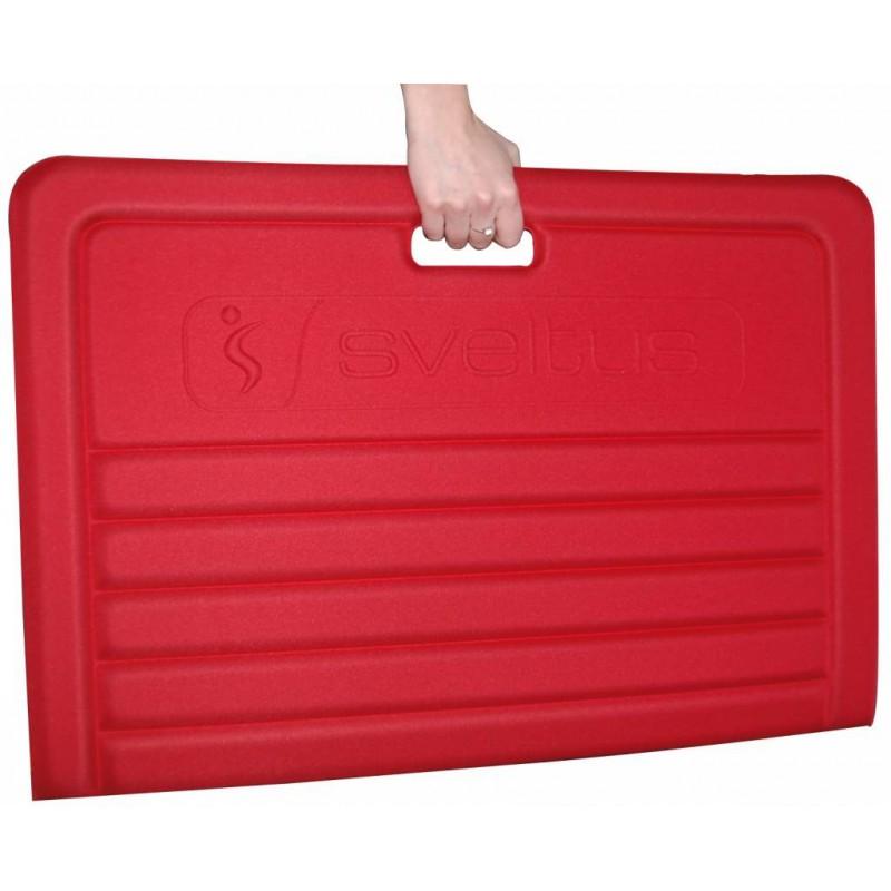 Tapis de sport Pliable Sveltus Rouge