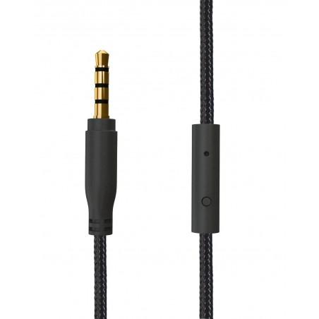 Casque-micro ACME SATURN + câble / Noir