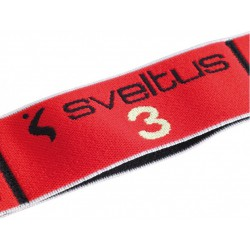 Elastiband Souple Sveltus 15KG Noir&Rouge