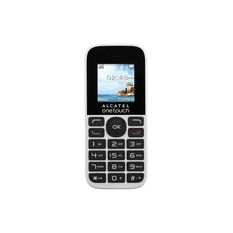 Téléphone Portable Alcatel 1016D Noir / Double SIM