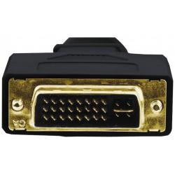 Adaptateur Hama DVI plug vers VGA 3 Sockets