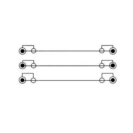 Câble Hama 3 RCA vers 3 RCA 2M