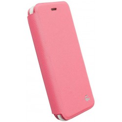 Flip Cover Krusell Malmö pour iPhone 6 / Rose