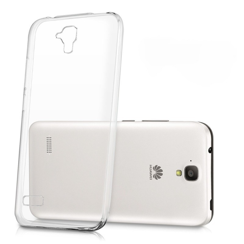 Coque en Silicone pour Huawei G Play Mini / Transparent