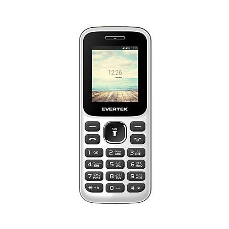 Téléphone Portable Evertek Neon / Double SIM / Noir