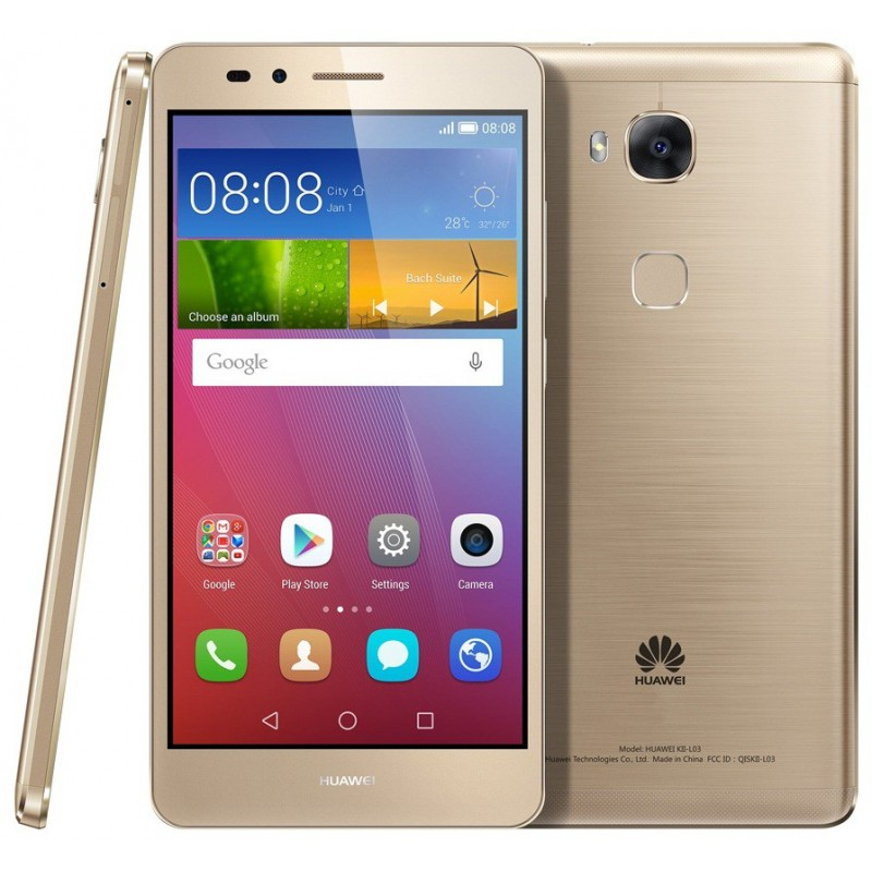 Téléphone Portable Huawei GR5 / 4G / Gold + SIM Offerte