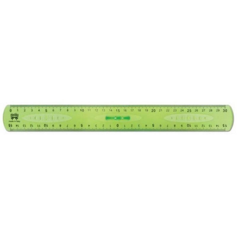 Règle triple décimètre ARDA ELASTIKA 20 cm