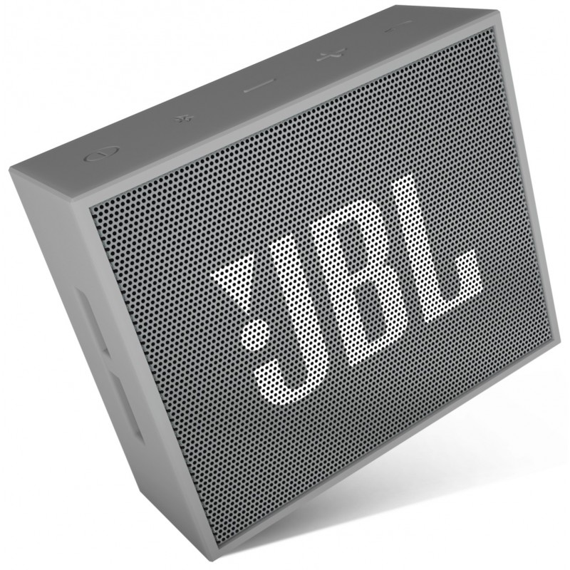 haut parleur portable bluetooth jbl go gris. Black Bedroom Furniture Sets. Home Design Ideas