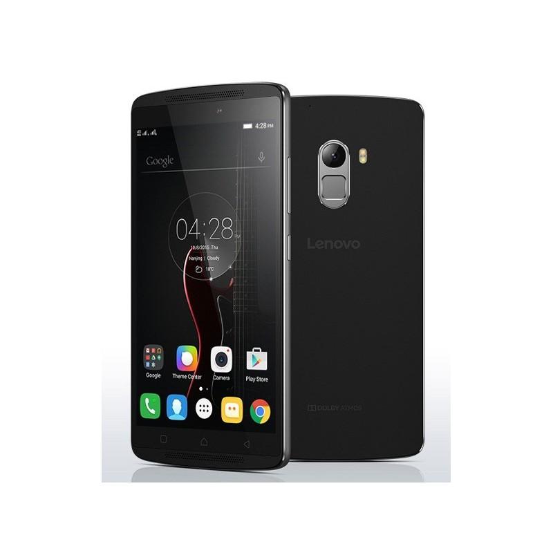 Téléphone Portable Lenovo VIBE K4 Note A7010 / Double SIM / Noir + Film de protection + Coque + SIM Offerte