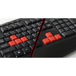 Clavier USB Gaming Cliptec MACRONA RGK750