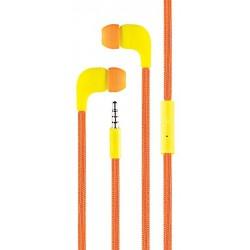Ecouteur Cliptec BME767 avec microphone / Orange