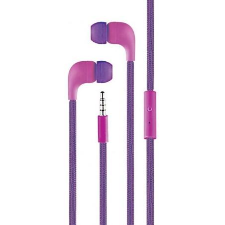Ecouteur Cliptec BME767 avec microphone / Violet
