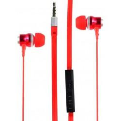 Ecouteur Cliptec RHYTHM BME878 avec microphone / Rouge