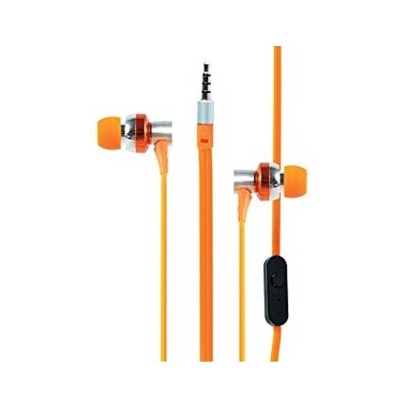 Ecouteur Cliptec G-HALLO BME757 avec microphone / Orange