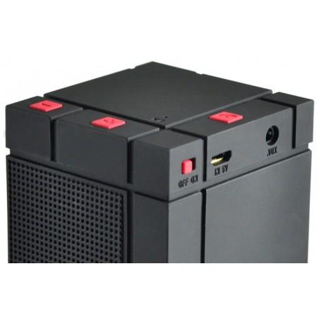 Haut Parleur Portable Bluetooth Cliptec 'Mini Color-Beat' PBS252