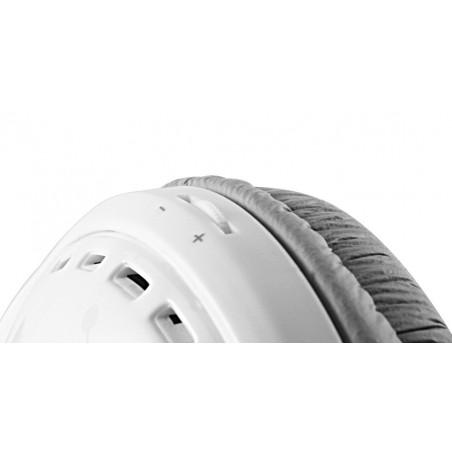 Casque stéréo Multimédia Cliptec WAVE-BEAT BMH693 / Blanc
