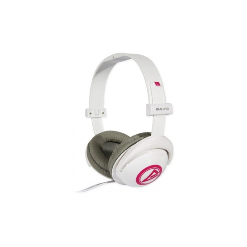 Casque stéréo Multimédia Cliptec BIG HEAD BMH719 / Blanc