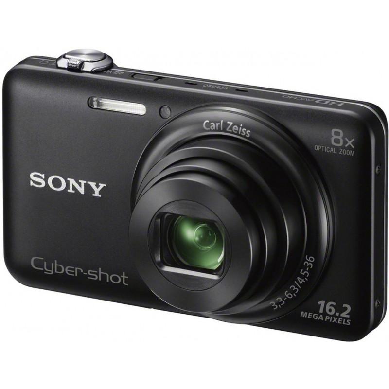 Appareil Photo Sony Cyber Shot WX80/ 16.2 MP / Noir / Wifi