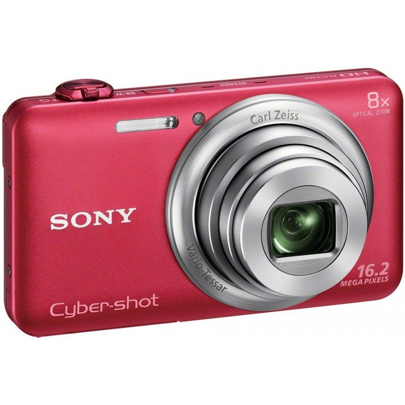 Appareil Photo Sony Cyber Shot WX80/ 16.2 MP / Rouge / Wifi