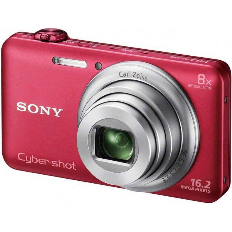 appareil photo sony cyber shot wx80 16 2 mp rouge wifi. Black Bedroom Furniture Sets. Home Design Ideas