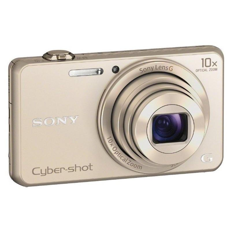 Appareil Photo Sony Cyber Shot WX200 / 18.2 MP / Gold