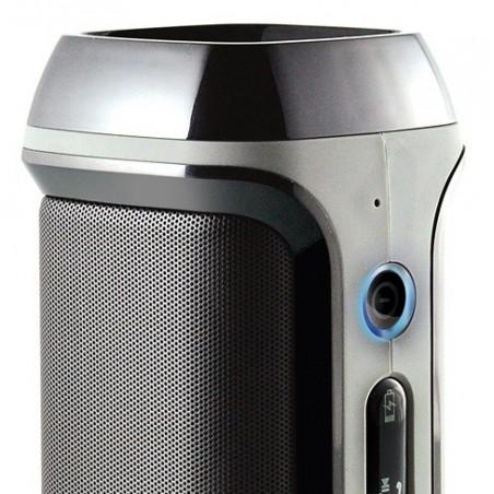 Haut Parleur Bluetooth Cliptec POWER-BEAT avec chargeur / Noir