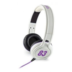Casque stéréo Multimédia Cliptec URBAN JOCKEY BMH836 / Blanc