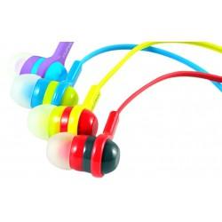 Ecouteur Cliptec Rainbow Spark BME515 / Rouge & Jaune