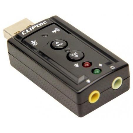 Carte Son USB 2 Ports CLiPtec BMA230