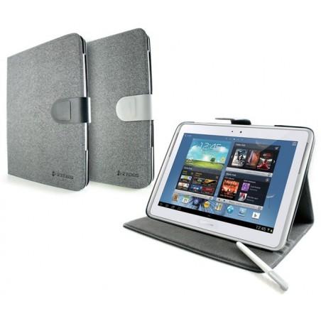 """Etui CLiPtec SSS382 pour tablette Samsung 10.1"""" / Gris"""