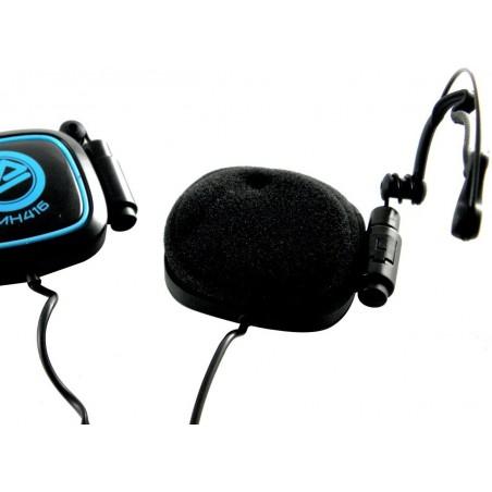 Casque stéréo Multimédia CLiPtec Mobi-Sound BMH416 / Noir & Bleu