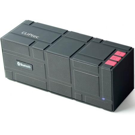 Haut Parleur Portable Bluetooth Cliptec 'Color-Beat' / Noir