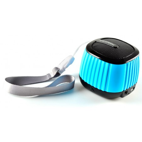 Haut Parleur Bluetooth CLiPtec COLOUR-WAVE / Bleu