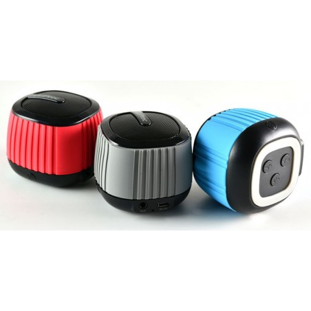 Haut Parleur Bluetooth CLiPtec COLOUR-WAVE / Noir
