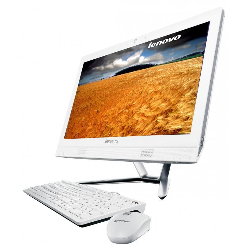 Pc de Bureau Lenovo All-in-One C360 Tactile / Blanc