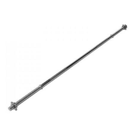Barre de musculation Zimota IR4013 30mm x150cm avec 2 écrous