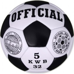 Ballon de Foot Zimota Official / Noir & Blanc