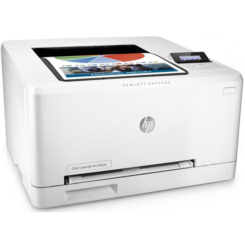 Imprimante Laser Couleur HP Color LaserJet Pro M252n