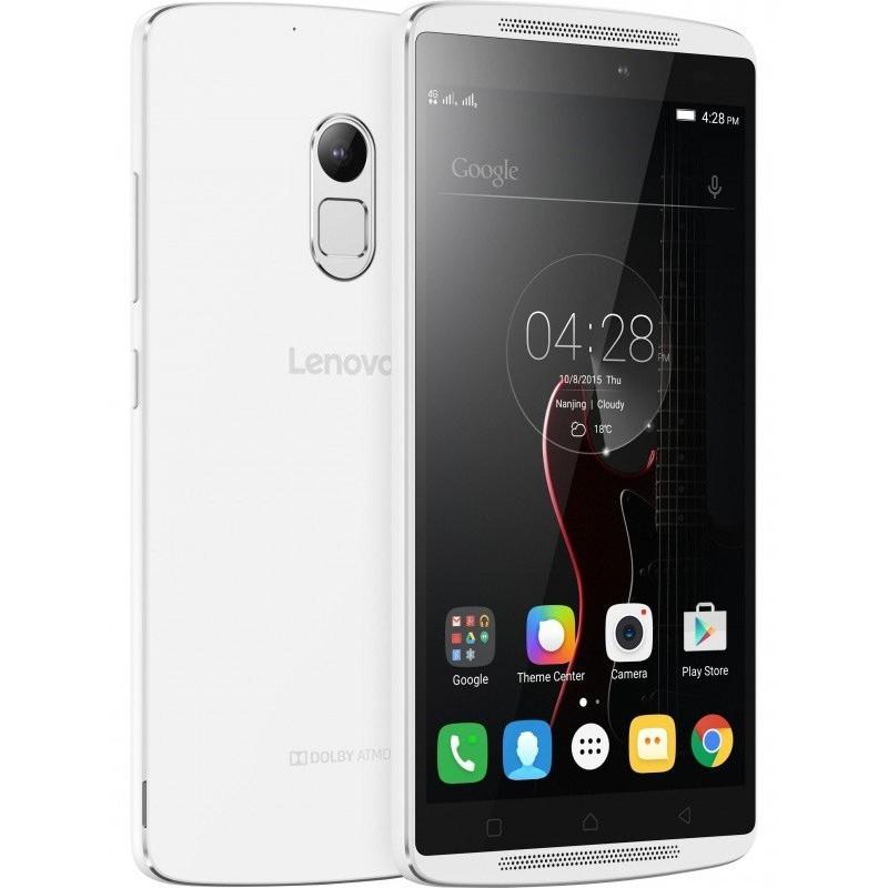 Téléphone Portable Lenovo VIBE K4 Note A7010 / Double SIM / Blanc + Film de protection + Coque + SIM Offerte