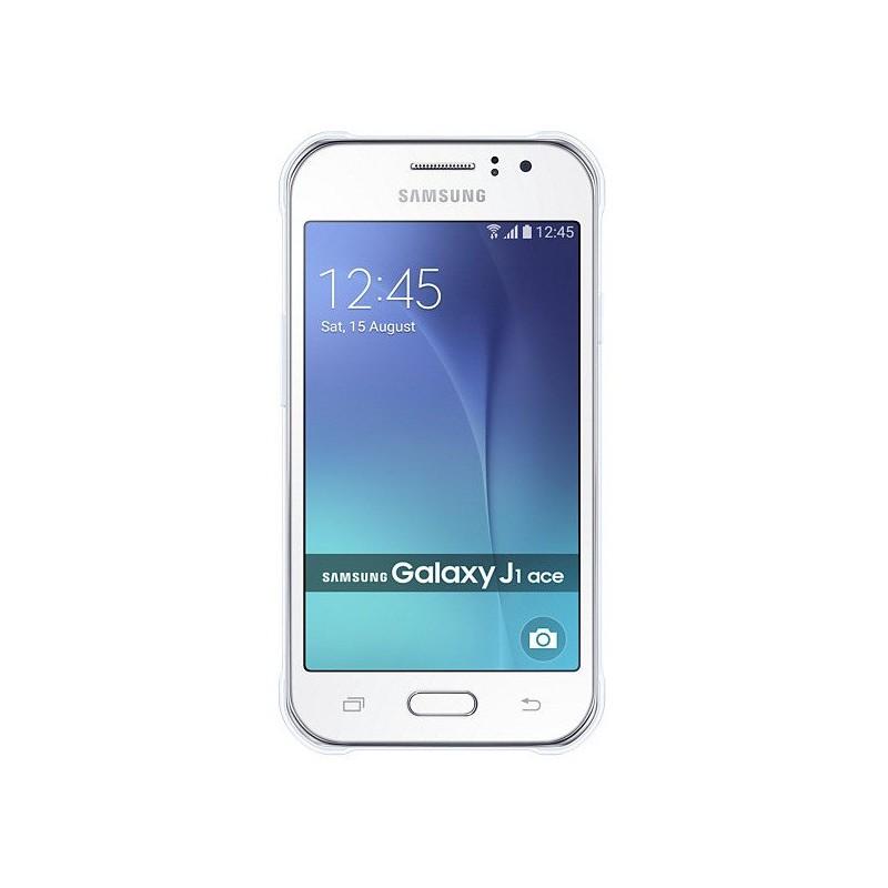 Téléphone Portable Samsung Galaxy J1 Ace / 4G / Double SIM / Blanc + SIM Offerte